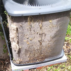 Dirty Condenser Before Clean & Check (Without-Cover)